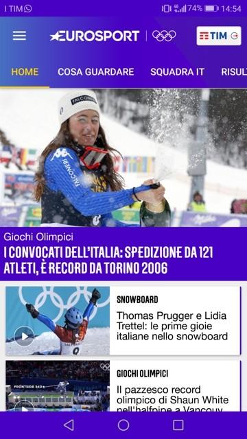 come vedere le olimpiadi invernali