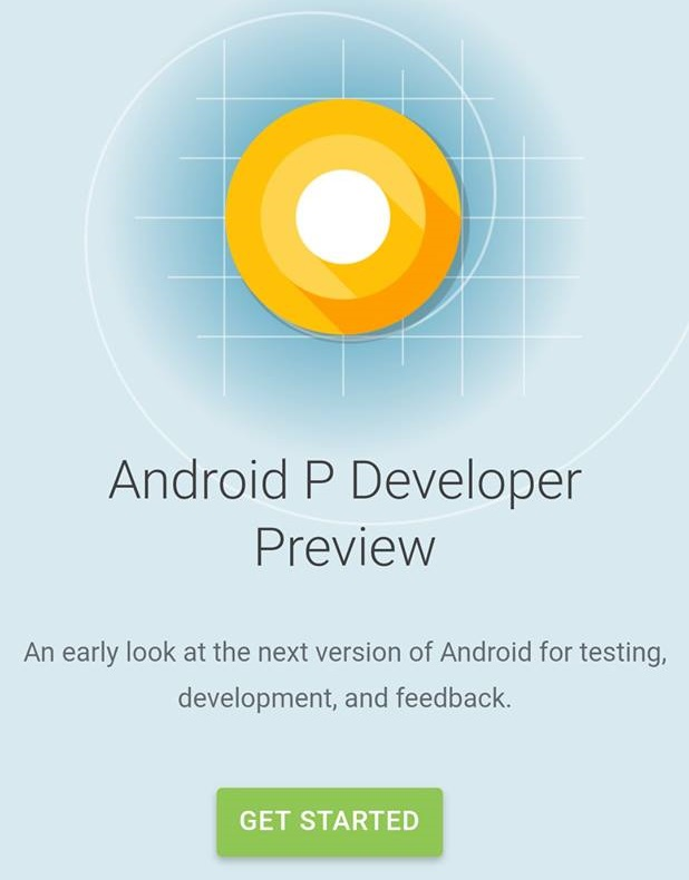 android 9 p developer preview