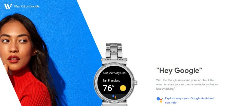 android wear os by google