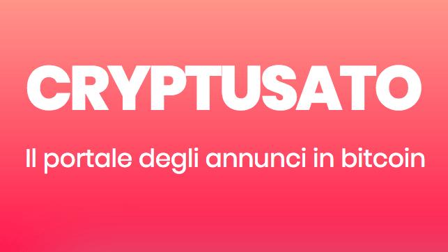 Bitcoin cryptusate