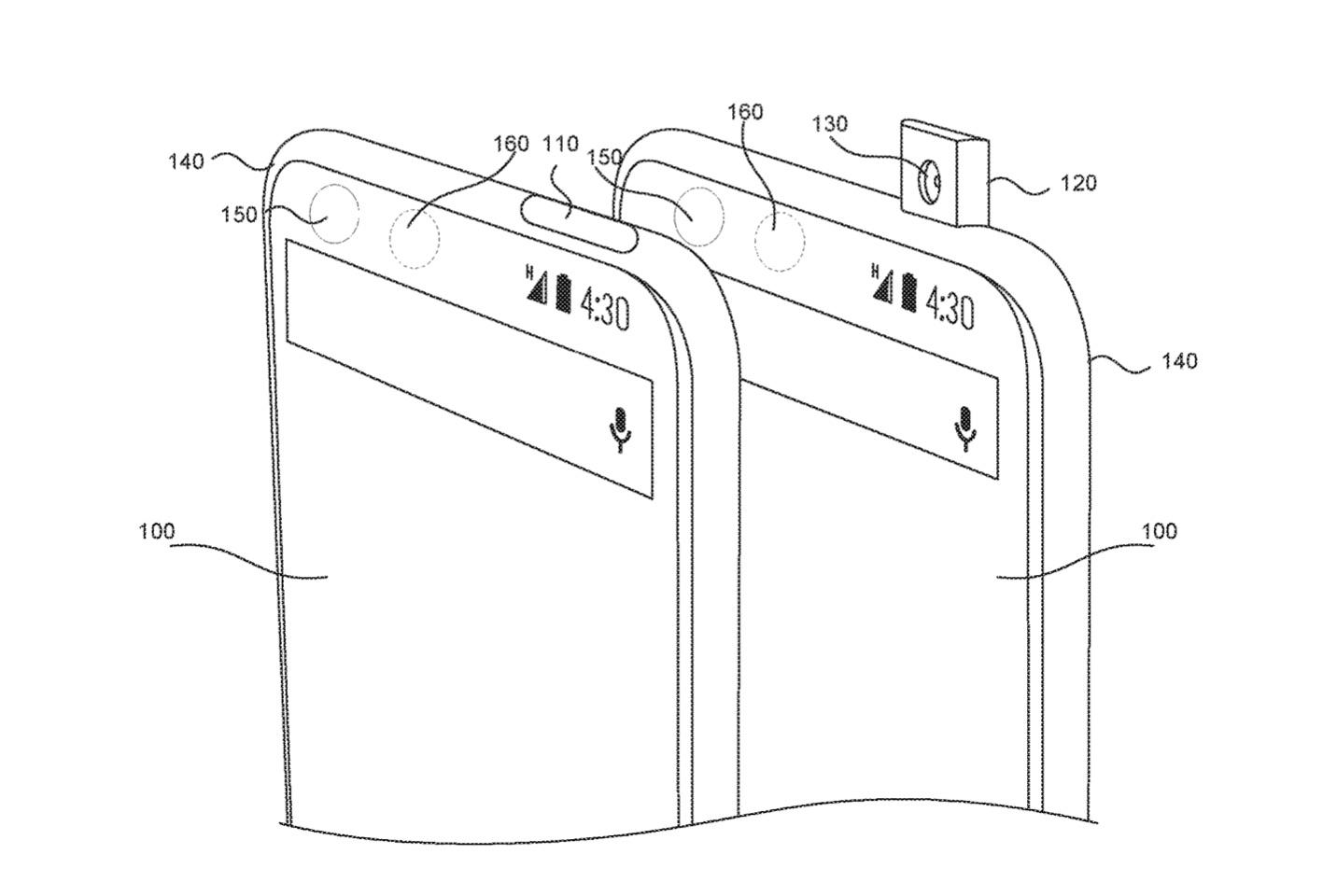 essential phone brevetti