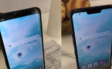 LG G7 Notch per Software deaktiviert