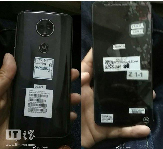 Motorola Moto E5 Plus immagini design