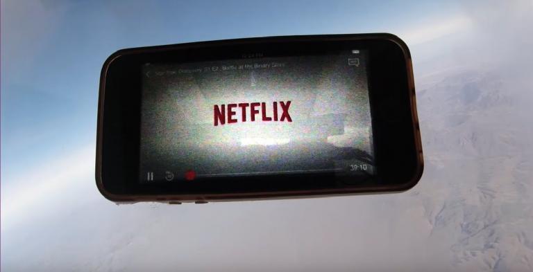 Netflix spazio