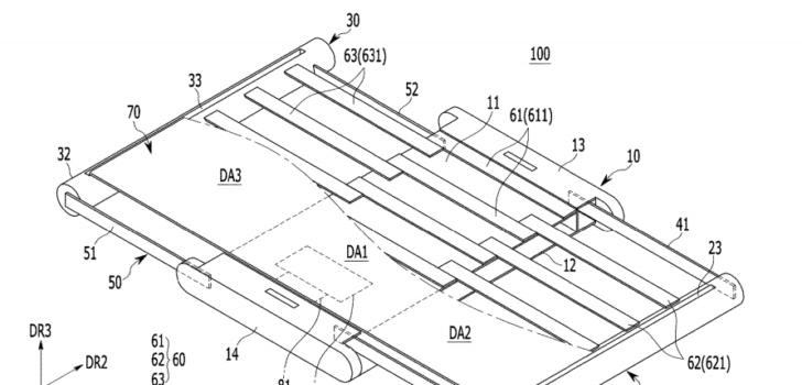 Samsung brevetto display estensibile