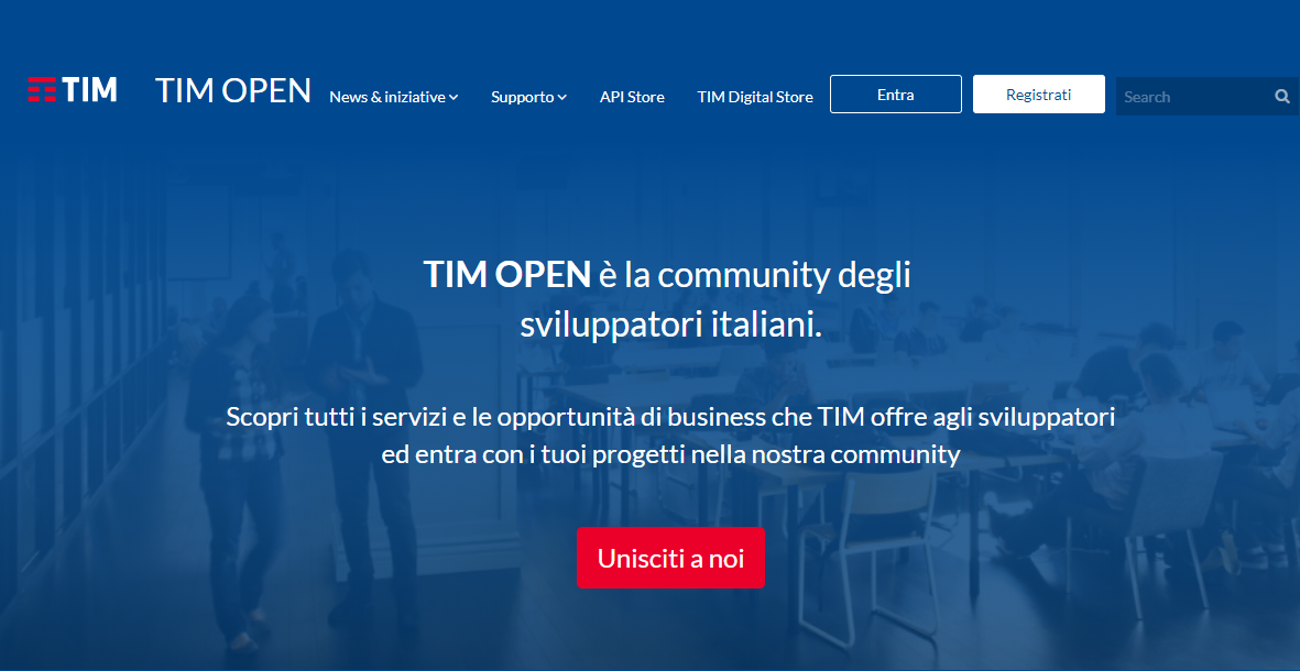 tim open