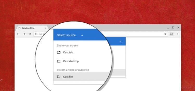 google chrome enviar
