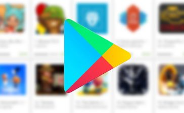 logotipo de android de google play store