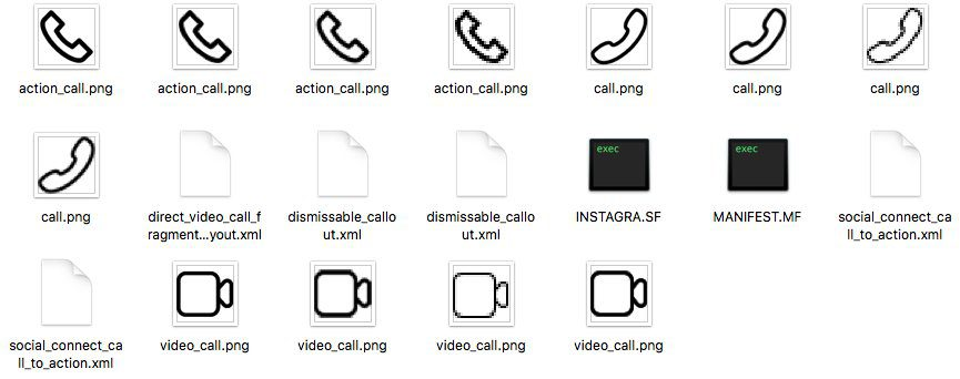 Instagram icone videochimate