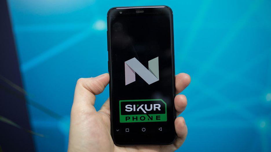 SikurPhone 1