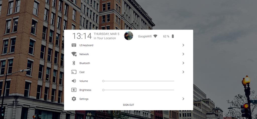 Предварительный просмотр Google Fuchsia из веб-браузеров