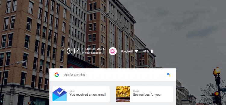 Google Fuchsia anteprima da browser Web