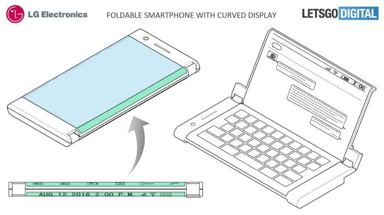 LG smartphone pieghevole brevetto riconosciuto