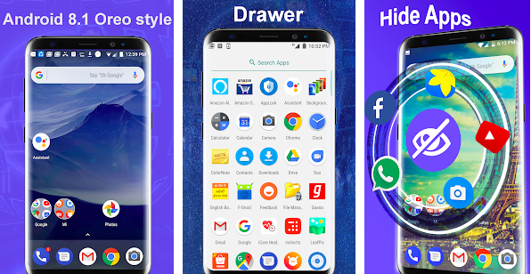 Launcher Oreo 8.1 launcher stile Android Oreo stock