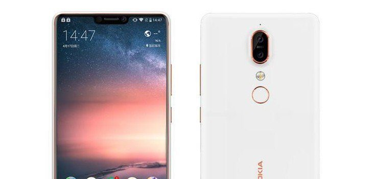 Nokia X6 Notch per il display