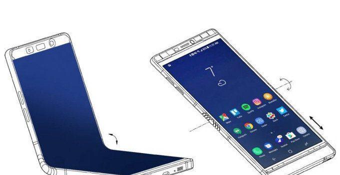 Samsungs smartphone pieghevole