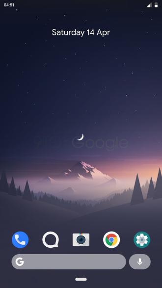 android P gesture e barra di navigazione come iPhone X