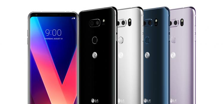lg v30 riceve thinq ed android oreo