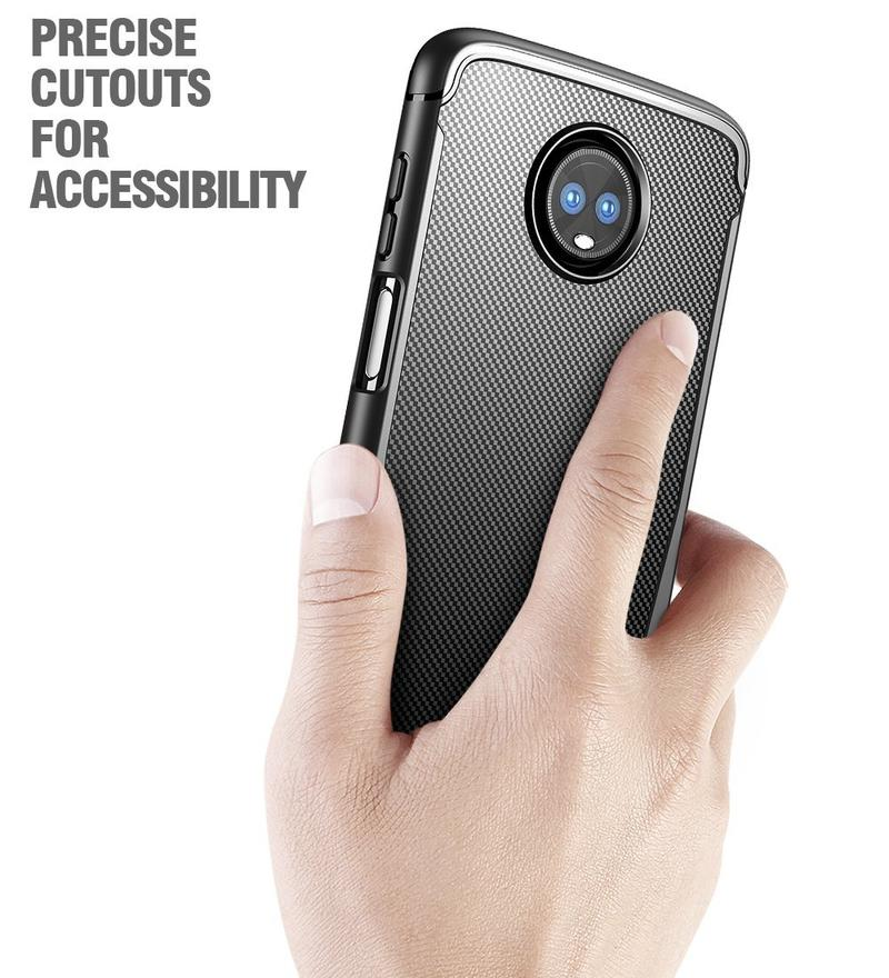 moto z3 play cover potetic 3 lettore d'impronte digitali sul posteriore