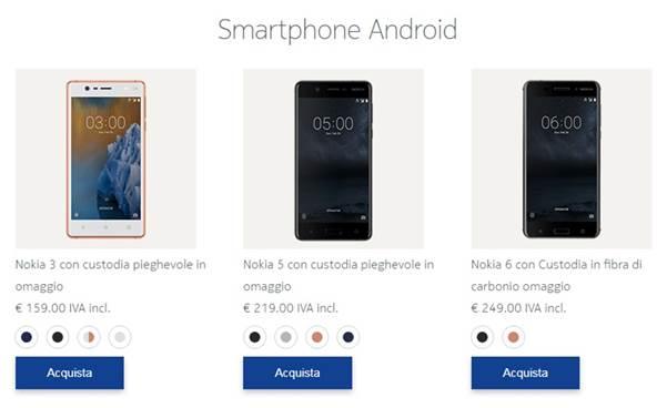 nokia 3 5 6 aggiornamento android Oreo