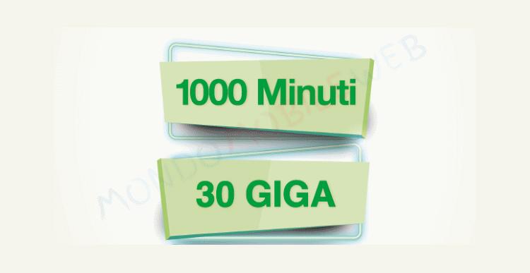 Tre Play 30: arriva la nuova promo con 1000 minuti e 30 GB di Internet