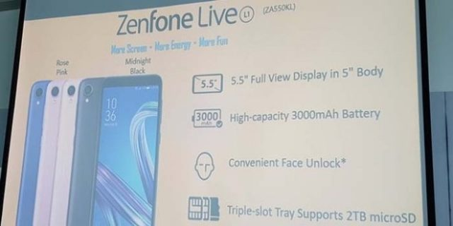 ASUS Zenfone Live L1 Android GO