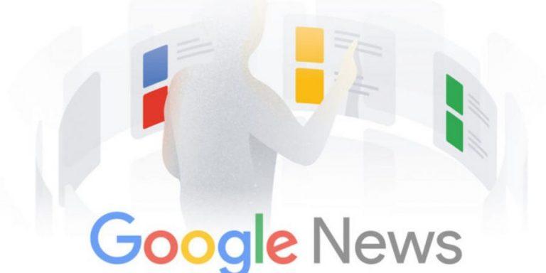 cobrir notícias do google