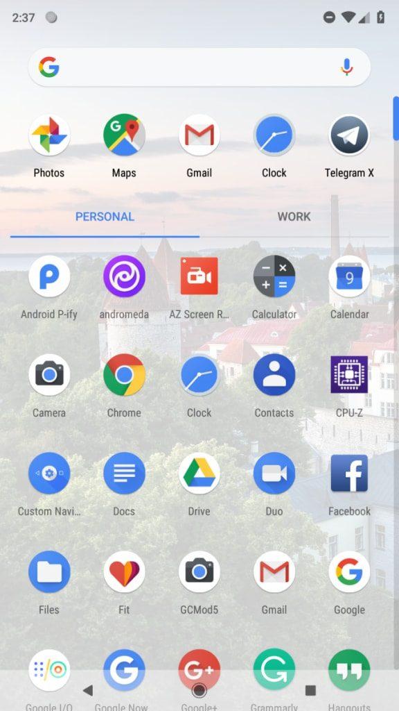 Rootless Pixel 2 Launcher download