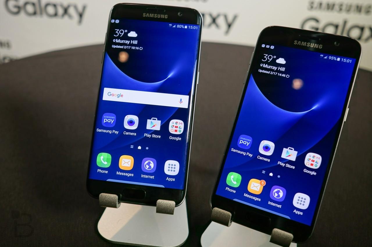 galaxy s7 ed s7 edge ripreso aggiornamento android oreo