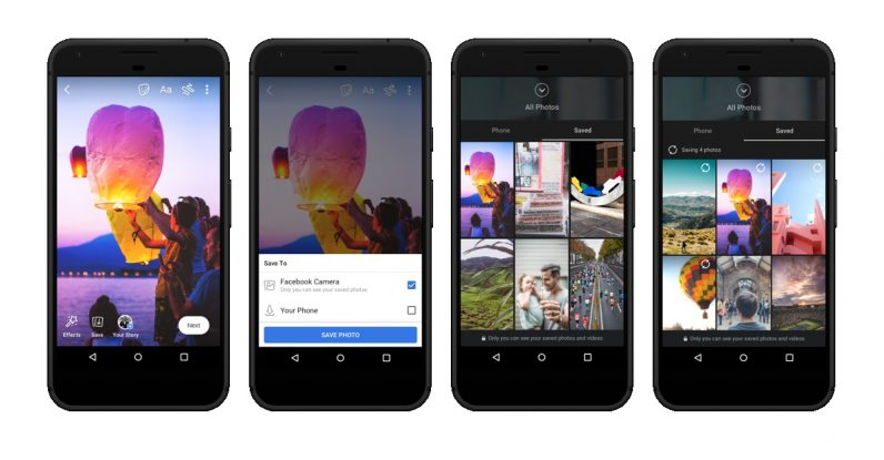 facebook stories novità