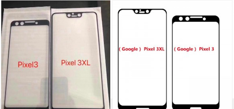 google pixel 3 e 3 xl display