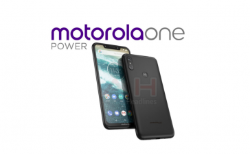 motorola one power android one en notch