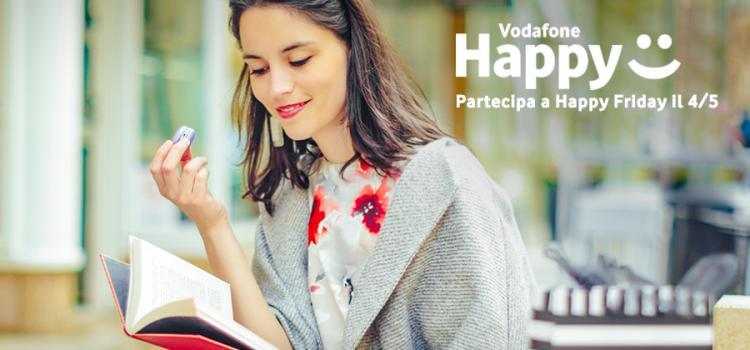 vodafone happy friday sconto Mondadori Store
