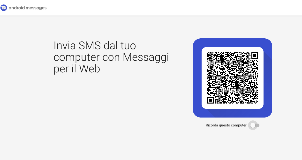 messages Android version web 1