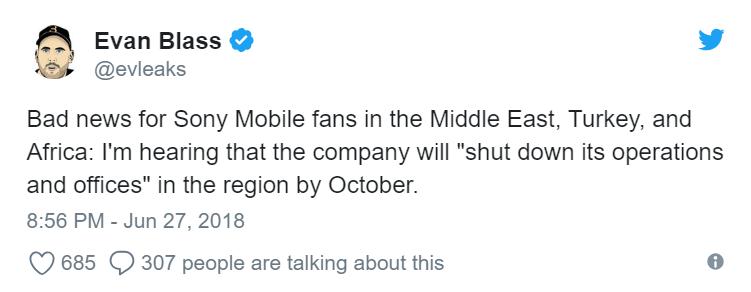evleaks sony mobile