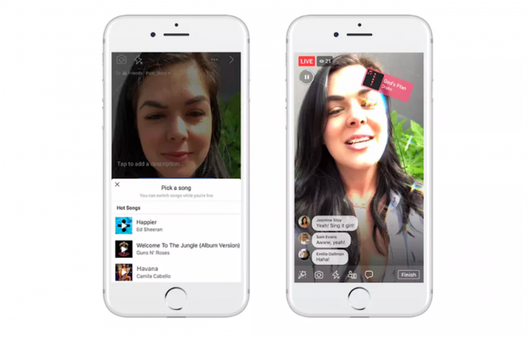 facebook lip sync live ufficiale