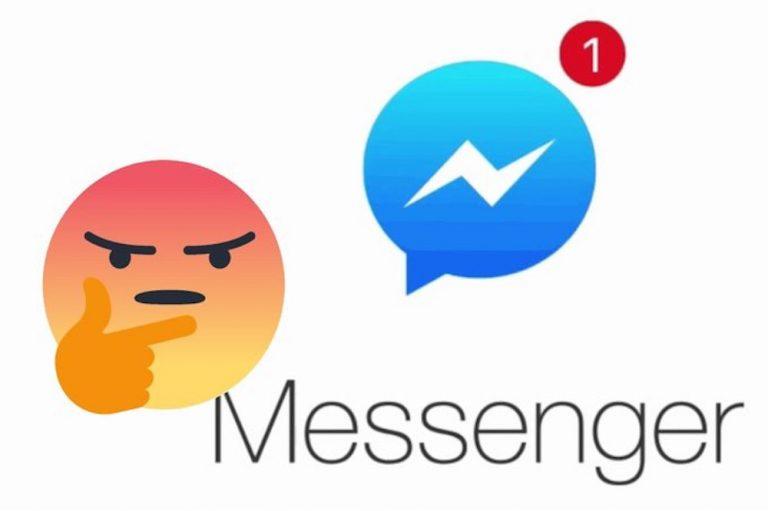 facebook messenger notifica nuovo contatto