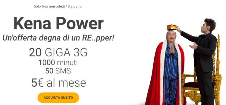 kena power promozione attivabile online