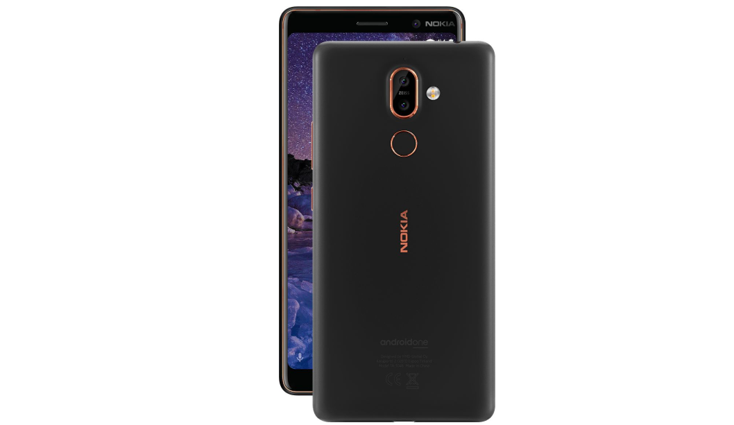 nokia 7 plus android P