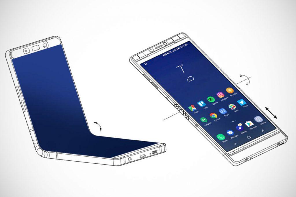 samsung smartphone pieghevole