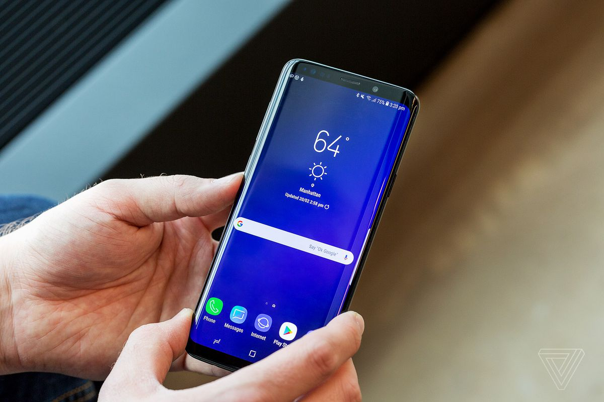The Samsung Galaxy S9 video backgrounds also land on S8 and