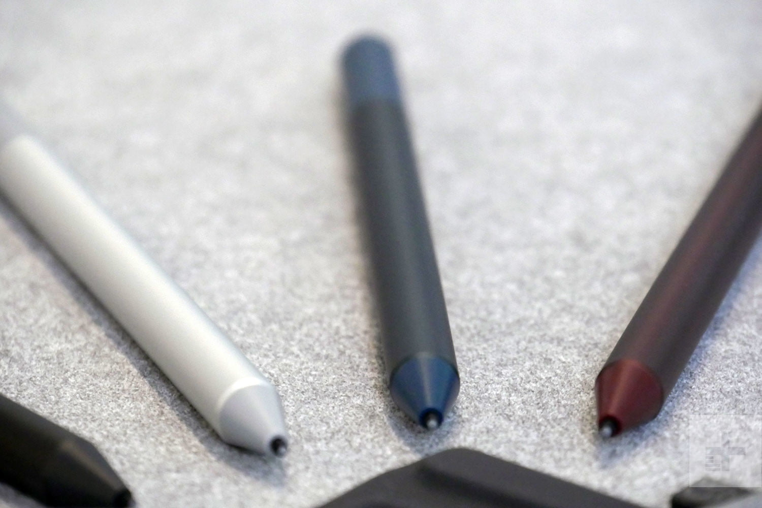 surface pen a ricarica luce del display