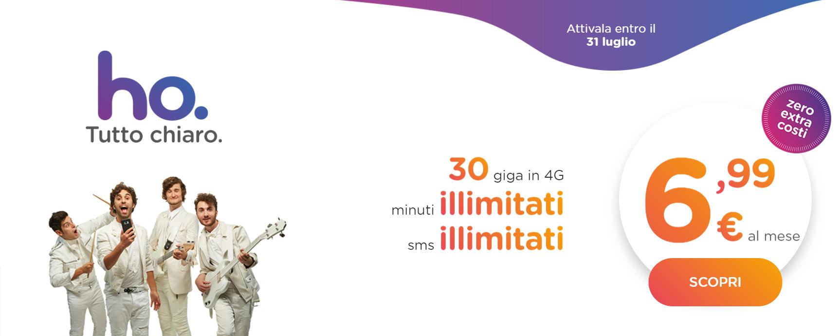 Ho. mobile offerta