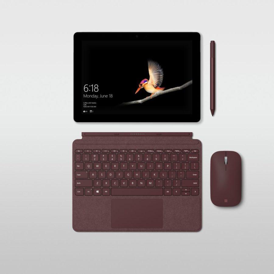 Microsoft Surface GO ufficiale