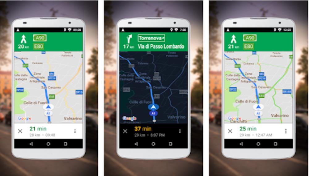 Navigatore per Google Maps GO
