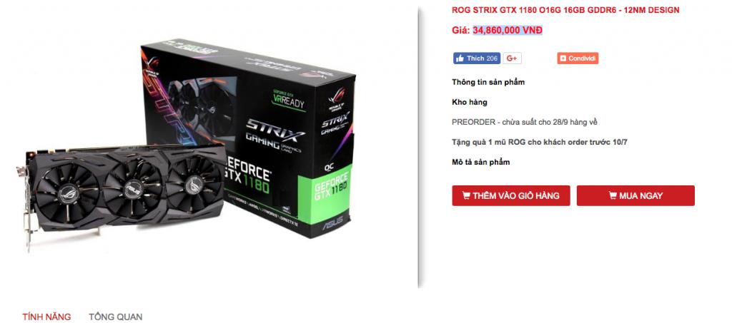 Nvidia GTX 1180 Ti