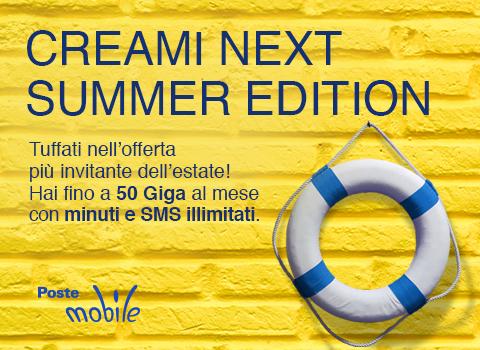 PosteMobile Creami neXt - Summer Edition