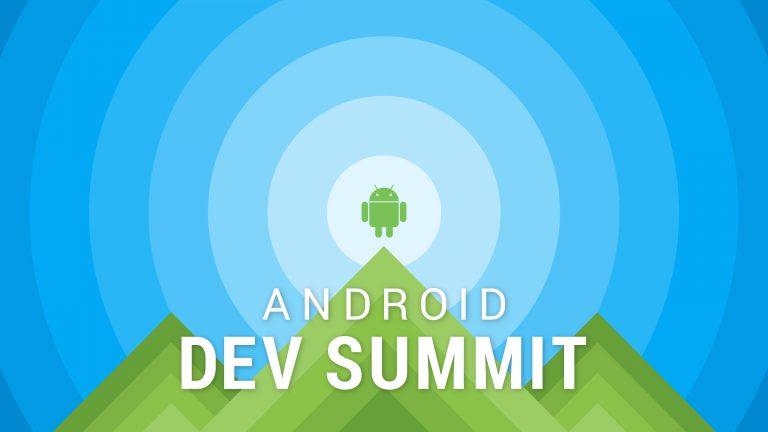 android dev summit 2018