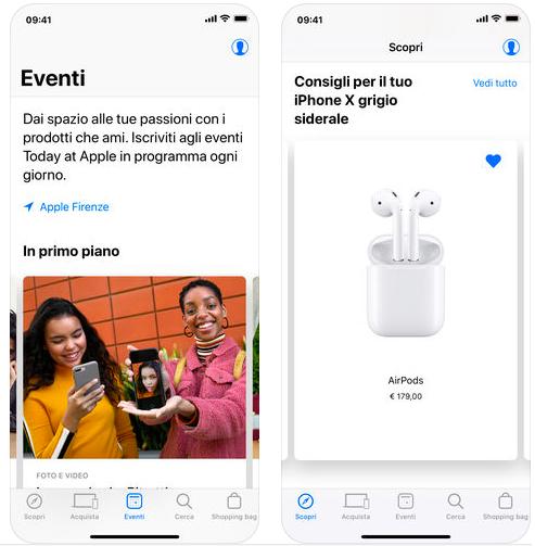 cópia das atualizações da loja de aplicativos da Apple