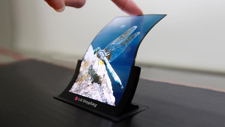 display pieghevole LG apple iPhone